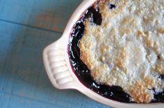62 Healthier Gluten-Free Desserts — Blueberry Cobbler