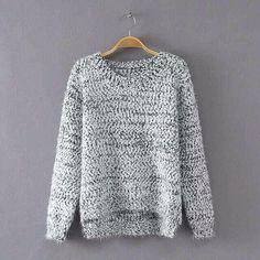 那拉时尚完美店,马海毛两色毛衣