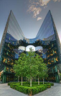 Architecture near Tower Bridge, London