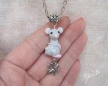 Mouse, Pendant mouse, Rat, Jewelry rat, Mice, Necklace Mouse, Necklace rat, Jewelry animal