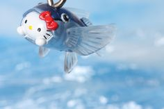 Hello Kitty as a flying fish | photo by Naoko Miike