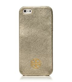 metallic hardshel iphone 5 case / tory burch But I'm not going to pay $60 for a phone cover! Made my own with scrapbook paper and inserted it into my clear soft cover!