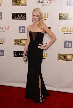 1-11-13 Naomi Watts at the Critics' Choice Movie Awards