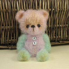 Teddy bear named Savka by OsyaOlga on Etsy