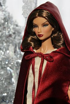 Little red riding Barbie