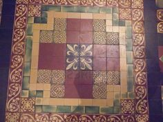 Medieval Floor Tiles in St Patricks Anglican Cathedral in Dublin Ireland Stock Photo - 12237278