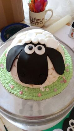Shaun the Sheep cake. First Prize!