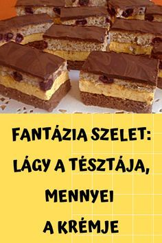Cake Recipes, Dessert Recipes, Hungarian Recipes, Vanilla, Food And Drink, Cookies, Baking, Sweet, Sweets