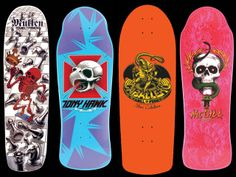 Decks I owned by Powell Peralta... The Steve Cab was the first real board I owned