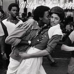 "androphilia: "" lgbt-history-archive: ""Castro Street Fair, San Francisco, August 17, 1980. Photo © Paul Fusco. "" """
