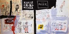 Price of Gasoline in the Third World, 1982 by Jean-Michel Basquiat. Neo-Expressionism. figurative. Private Collection