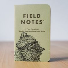 Shenandoah:+Old+Bird,+#87+Field+Notes+von+pixelgraphix+auf+DaWanda.com