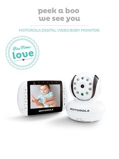 Keep an eye on your baby with the Motorola baby monitor, a BabyCenter Top Pick.