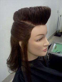 psychobilly hairstyles : about Psychobilly hair /Rockabilly hair on Pinterest Psychobilly ...