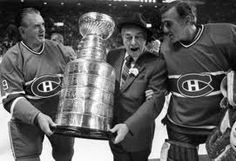 Maurice Richard, Toe Blake, Jaques Plante with another cup!