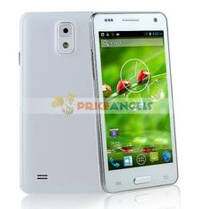 W9002 MTK6582 1.3GHz Quad Core 3G Smartphone Android 4.2.2 with Wi-Fi GPS 4.5 Inch FWVGA Capacitive Touch Screen(White)
