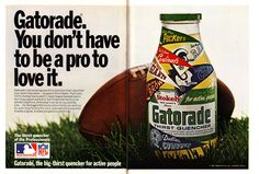 Gatorade NFL Ad - You don't have to be a pro to love it!