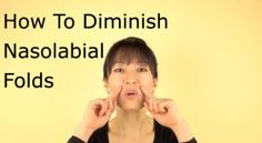 How To Diminish Nasolabial Folds Different from crow's feet or forehead wrinkles which you pay more attention to, the nasolabial folds tend to be ignored until they really start to Massage Facial, Yoga Facial, Skin Tips, Skin Care Tips, Face Yoga Method, Face Yoga Exercises, Nasolabial Folds, Anti Aging Facial, Facial Care
