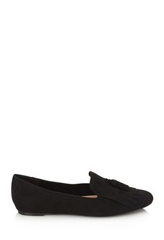 Tasseled Faux Suede Loafers | FOREVER21 - 2000120170