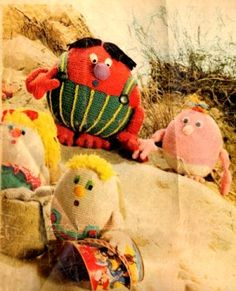 Gonk -Vintage Soft Toy pattern