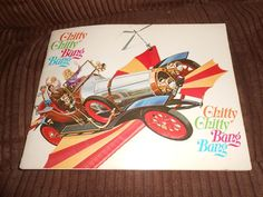 Chitty Chitty Bang Bang book 1968 1ST PRINTING ILLUSTRATED & in nice condition