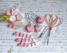 ✿桜の髪飾り✿6点セット✿淡ピンク&ピンク✿つまみ細工