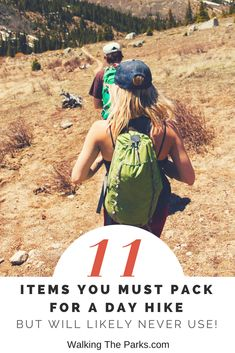 11 Items You Must Pack for Day Hiking Even Though You Might Never Use them - Walking The Parks - What should you pack for a day hike? Most important is the hiking gear we rarely use but should nev - Winter Camping, Camping And Hiking, Family Camping, Tent Camping, Camping Gear, Camping Checklist, Outdoor Camping, Camping Hacks, Outdoor Gear