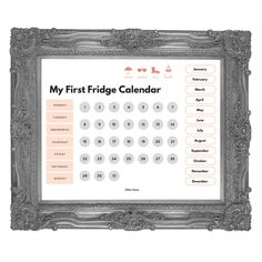 Educate early calendar fundamentals with our Different Goose authentic 8.five x 11′ Refrigerator Calendar! Stroll your toddler via days of the week, months of the yr and seasons of the calendar in a single at hand spot. Merely print and fasten in your refrigerator, then mark each and every month, date and day of the week by way of hanging a magnet (we adore those!) over the corresponding area. Each day, they'll be told the wonderful thing about passing time and measuring moments. Bonus: Accent graphics displayed above each and every season will advised a b