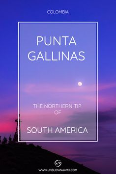 Punta Gallinas is an adventure to the end of the world, a remote desert on the Northern tip of South America. Giant dunes that roll into the sea? End Of The World, South America, Backpacking, Remote, How To Get, Sea, Adventure, Cabo De La Vela, Hens