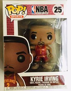 Kyrie Irving, Nba Merchandise, Nba Live, Funko Toys, Nba Sports, Bobble Head, Vinyl Figures, Pop, Flaws
