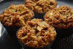 Pumpkin apple muffins (grain/dairy free)