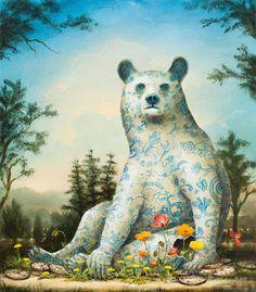 Allegorical Paintings of Animals – Fubiz Media