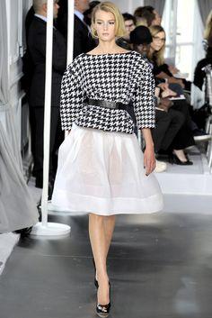 Christian Dior Spring 2012 Couture Fashion Show - Sigrid Agren (Elite)