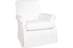 Lee Industries 1951-01 Chair, swivel chair for girls room. arm styl matches sofa.