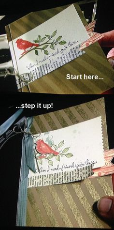 """Stampin' Up! Demonstrator – Meg Loven – Video Tutorials, Project Ideas, Order Online Any Time » Blog Archive » Choose Happiness: From """"Simple"""" to """"Step It Up"""""""