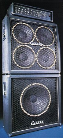Carvin Concert Bass stack