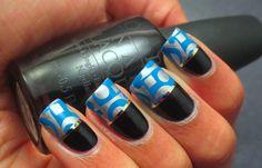 Varnished Valkyrie #nail #nails #nailart