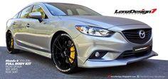 Mazda 6 GJ Atenza 2013 2014 2015 2016 2017 Tuning & Body Kit Lenzdesign Performance