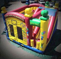 Bounce Super Clubhouse Rental info@taylorrentalpartyplusct.com