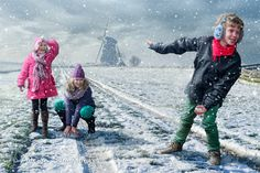 Snowball Fight by Adrian Sommeling, via 500px