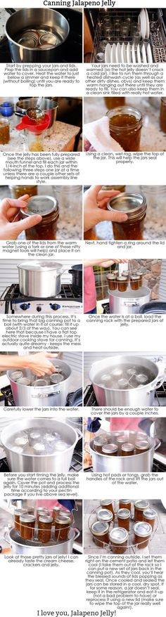 Get this delicious and simple recipe for jalapeno jelly (a. hot pepper jelly) plus a helpful step-by-step tutorial on water bath canning. Jalapeno Jelly, Jalapeno Canning, Canned Jalapenos, Coconut Oil Weight Loss, Hot Pepper Jelly, Water Bath Canning, Jelly Recipes, Tuna Recipes, Jam Recipes
