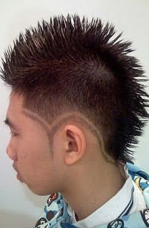 mohawk hair styles mens haircuts on s hairstyle s 1664