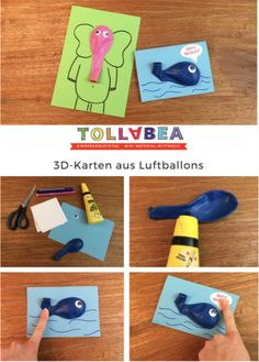 You want to quickly make a super funny and cute card, but have no idea how? – Then we have something for you to copy! with balloons! Wonderful for invitation cards to a kids birthday! Popup cards are the biggest … by mandystaat Kids Birthday Cards, Funny Birthday Cards, Diy Birthday, Card Birthday, 3d Cards, Pop Up Cards, Cute Cards, Funny Greeting Cards, Cards For Friends