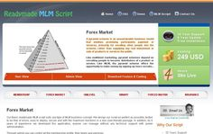 MLM Forex Plan Software has wide range of settings will let you to run commercial MLM business in your own way.