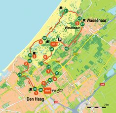 Den Haag knooppuntenroute km) Travel List, Outdoor Fun, Rotterdam, Where To Go, Netherlands, Hiking, City, Places, Caravans