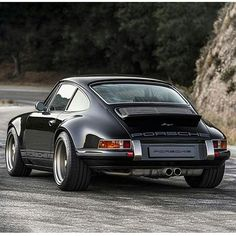Singer Porsche 911 - Gorgeous from every angle. #SportsCars #Speed #Power #Performance
