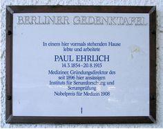 Datei:Gedenktafel Bergstr 96 (Stegl) Paul Ehrlich.JPG