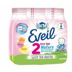 Le packaging du lait Eveil illustre particulièrement bien le concept de positionnement. En effet, « Eveil » évoque la période de croissance du nouveau-né, les inscriptions « 2ème âge nature » et « dès 6 mois » traduisent également de manière précise la volonté de s'adresser aux nouveau-nés , tout comme les couleurs douces utilisées. Le packaging s'adresse donc à une clientèle bien spécifique.