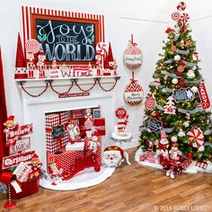 Share your joy this Christmas! With its merry mix of peppermint swirls sparkly snowmen and magical nutcrackers the Candy Cane Lane collection is sure to spread good cheer all season long. by hobbylobby Gingerbread Christmas Decor, Grinch Christmas Decorations, Whimsical Christmas, Candy Cane Christmas Tree, Candy Cane Decorations, Decorated Christmas Trees, Reindeer Christmas, Christmas Ornaments, Christmas Cookies
