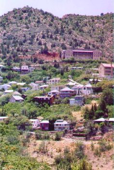 Jerome, AZ largest ghost town in America--we stumbled on this place on a trip out west years ago and have never forgotten it. Plan to return one day!